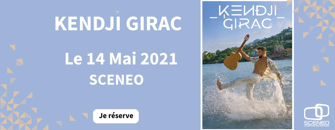 Kendji a Sceneo le 14 mai 2021