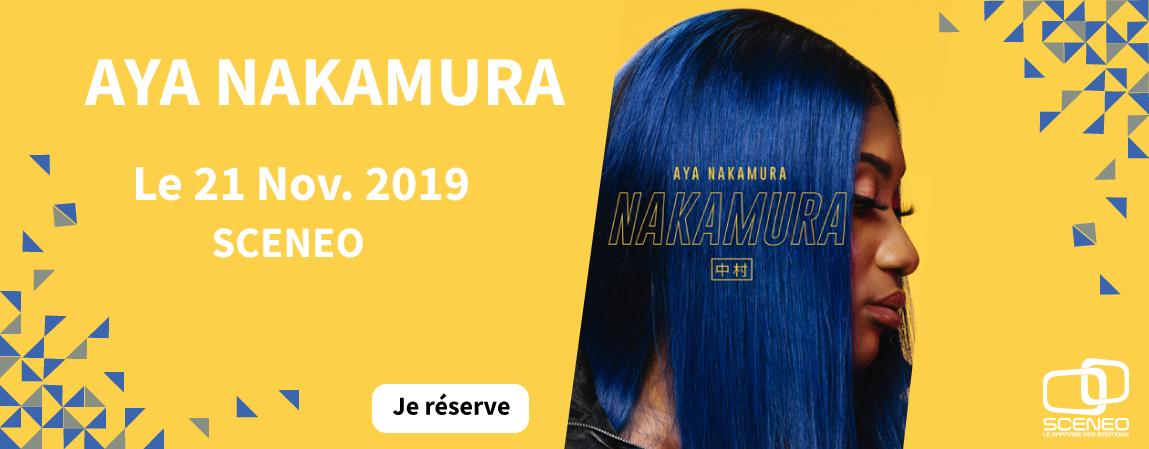 AYA NAKAMURA_LONGUENESSE_SCENEO_2019
