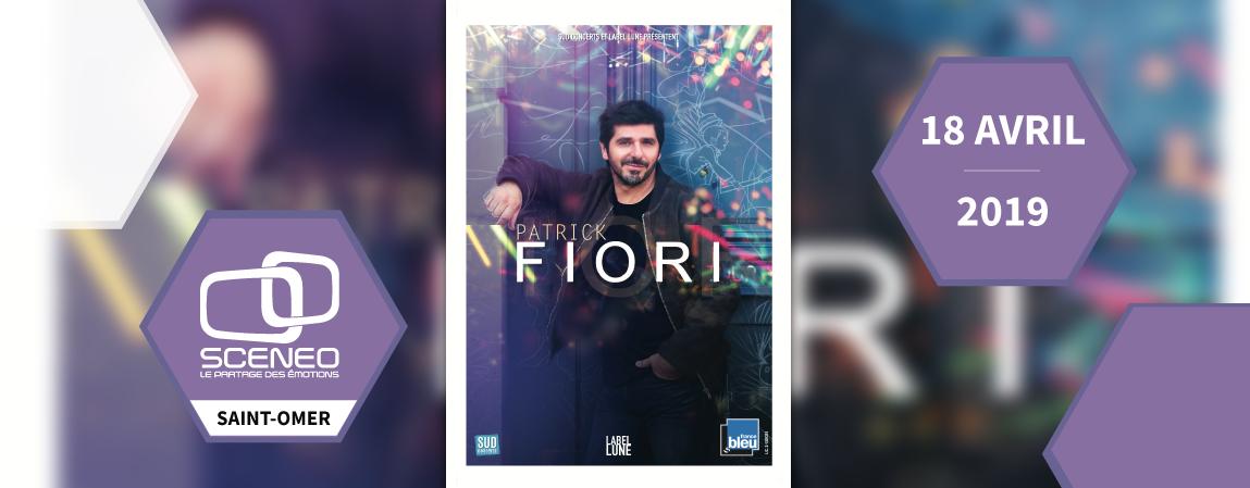 Patrick Fiori Sceneo le 18 Avril 2019