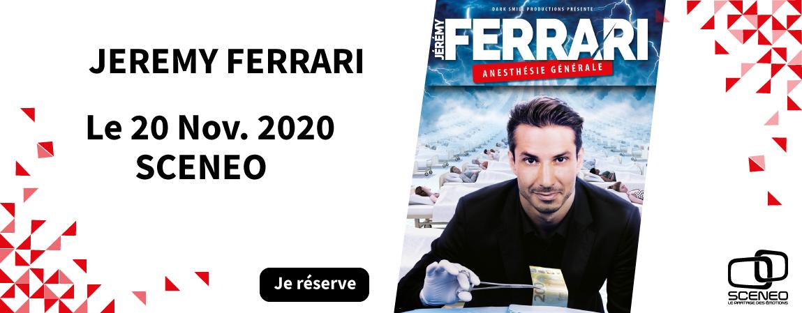 Jeremy Férrari à Sceneo le 20 novembre 2020